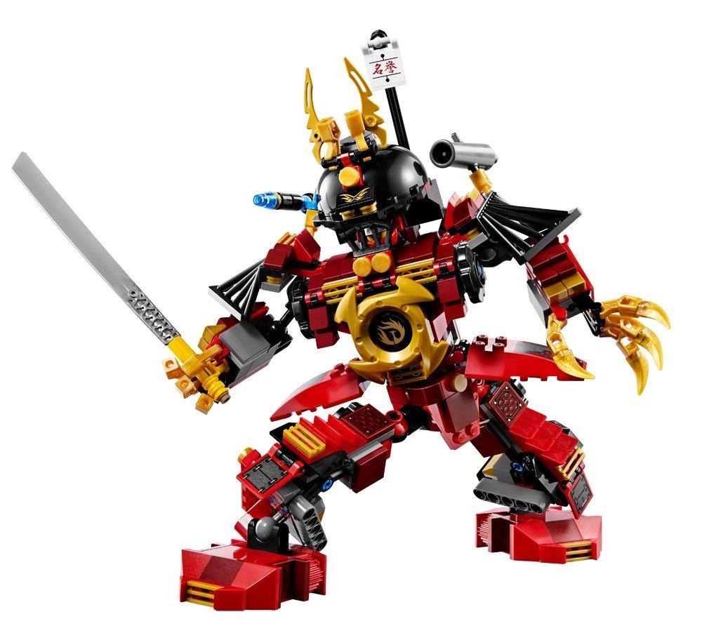 lego ninjago playthme 9448 jeu de construction le robot samurai amazonfr jeux et jouets