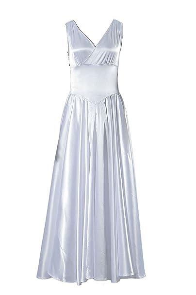 c4f4e3820d64 De-Cos Cosplay Costume Saori KIDO White One Piece Dress Outfit Set V1:  Amazon.co.uk: Clothing