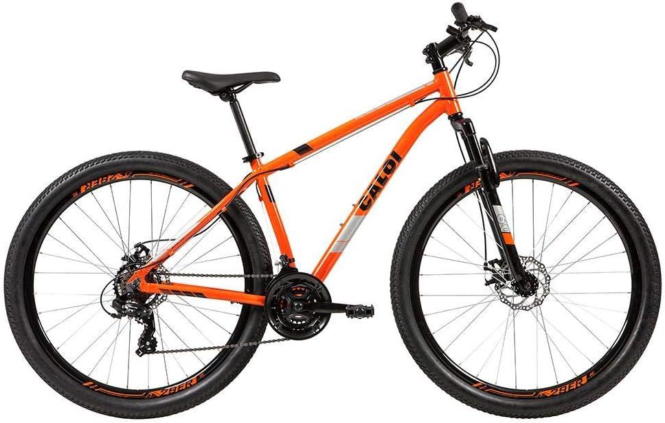 Bicicleta Mtb Caloi Two Niner Alloy Aro 29 - Susp Dianteira - Quadro Alumínio - Shimano - 21 Velocidades - Freio a Disco