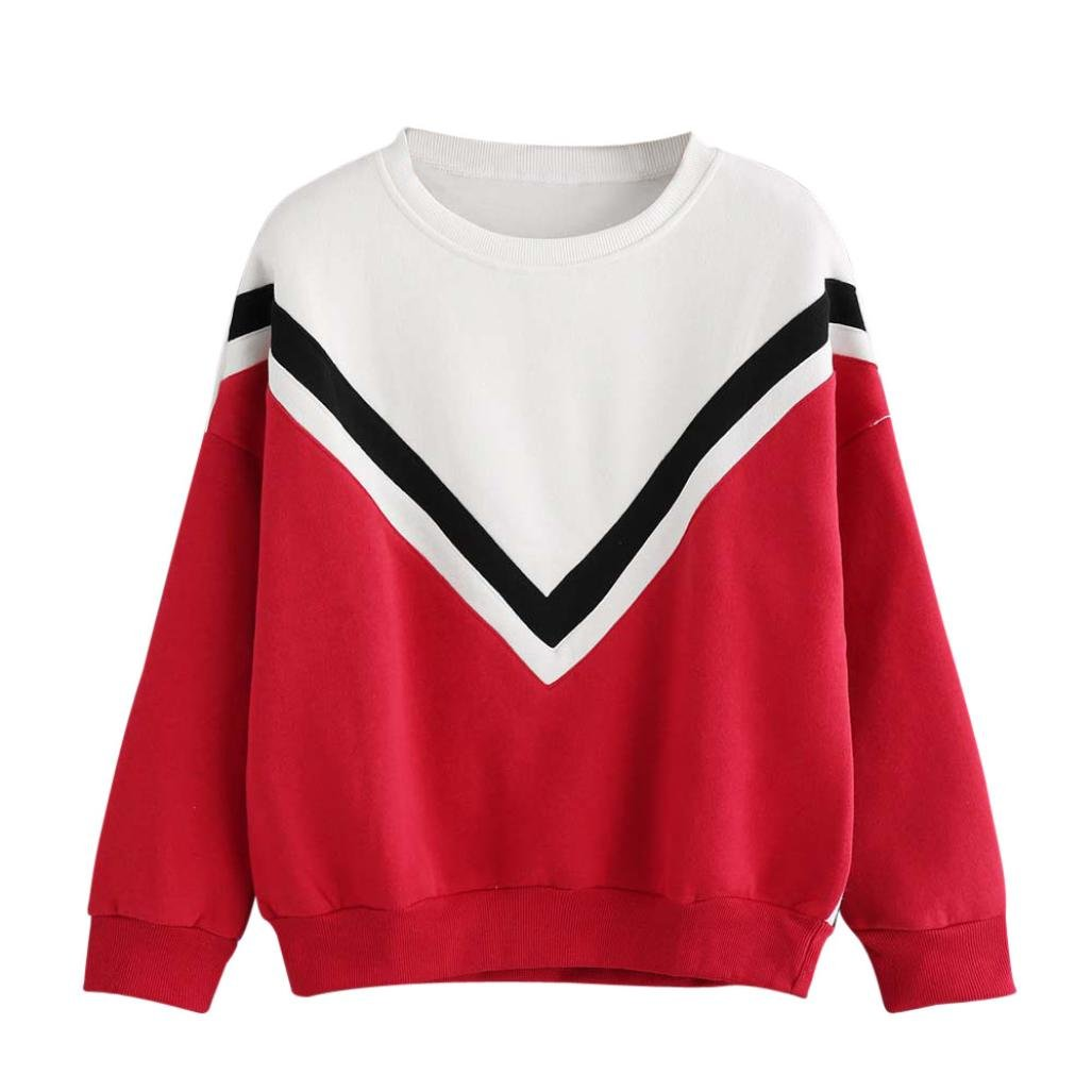 4ac2a1f554e355 Xinan Damen Kapuzenpullover Hoodie Langarm Sweatshirt Princess Brief  Drucken Top Bluse Shirt