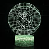 DGLighting Basketball Shape 3D Optical Illusion