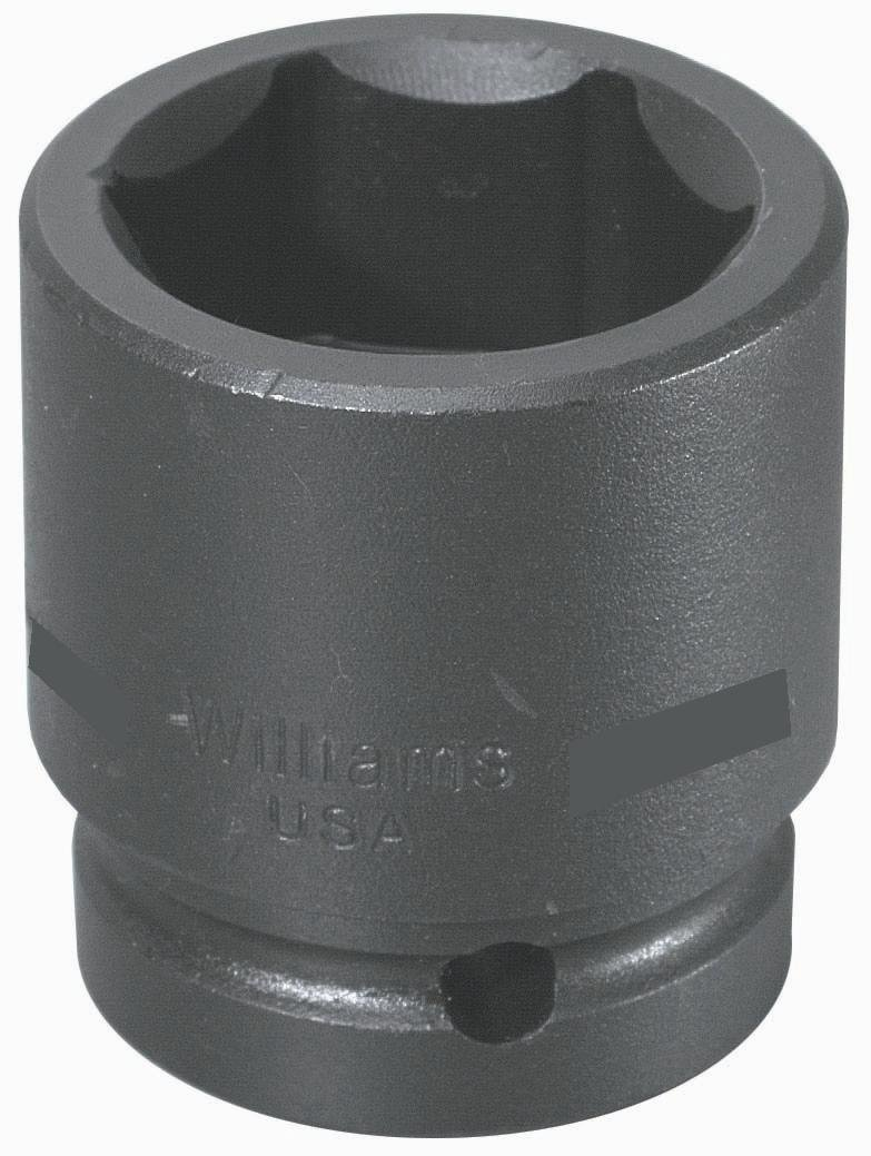 6 Point 2-7//16-Inch Snap-on Industrial Brand JH Williams Williams 7-678 1 Drive Impact Socket