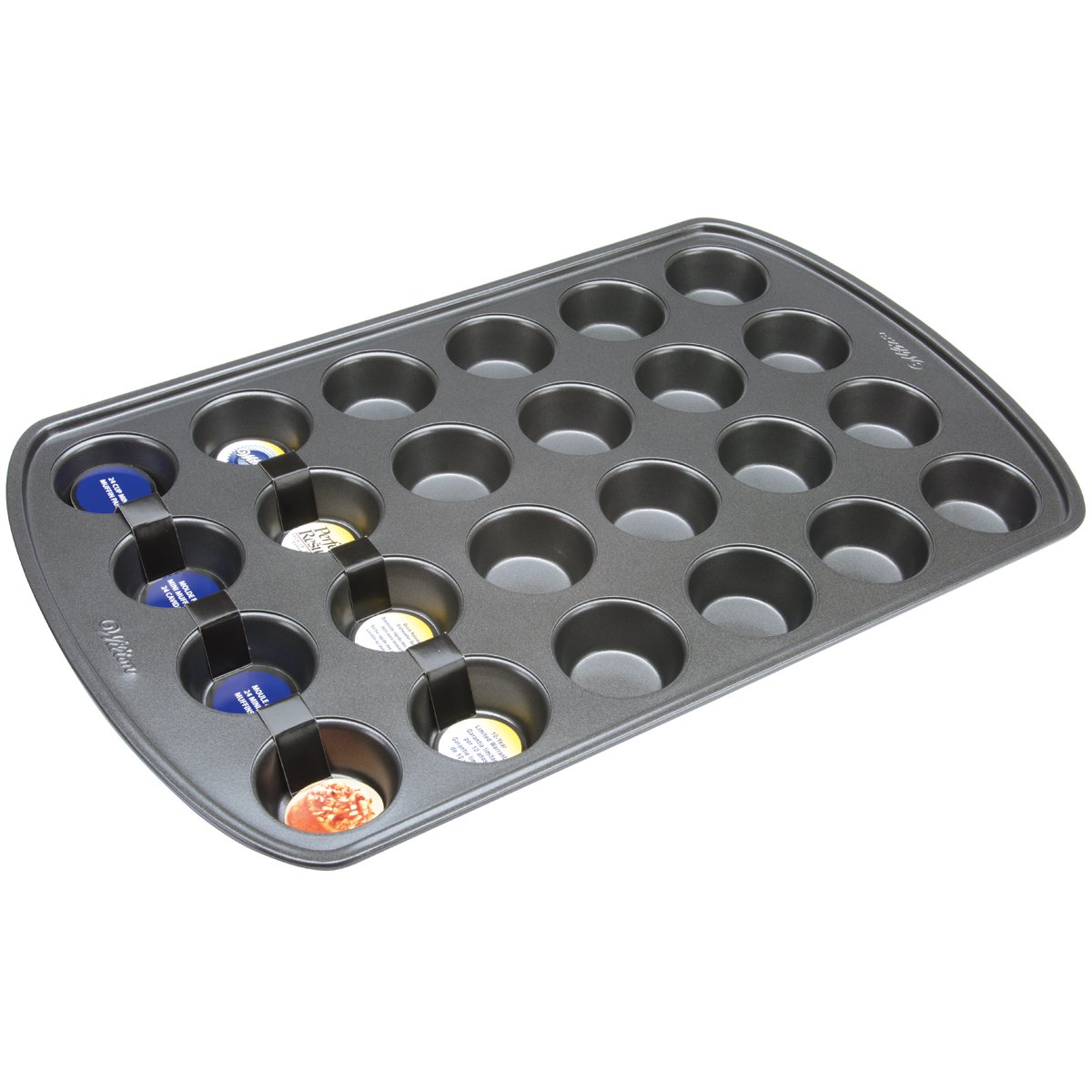 Wilton Perfect Results 24-Cup Mini Muffin Pan