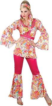 hippy - Disfraz de hippie para mujer, talla L (EF-2112. L): Amazon.es ...