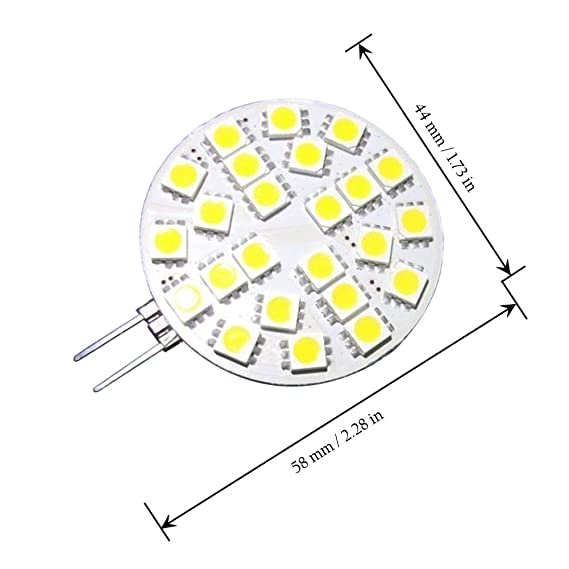G4 Bulb Diagram