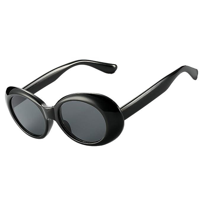Amazon.com: Pro Acme Clout Gafas de sol retro ovaladas Kurt ...