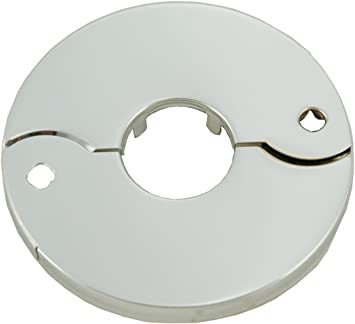 """1/"""" IPS Chrome Plated ESCUTCHEON  FITS 1"""" Iron Pipe// Sch 40 PVC PIPE"""