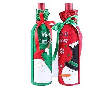 Botella con, Regalo de Navidad, cinturón y # xFF0 C; Navidad decoración para