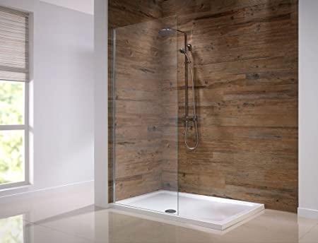 Orca F Mm Walk In Shower Panel Screen Mm Glass With Easy - Easy to clean bathroom tile