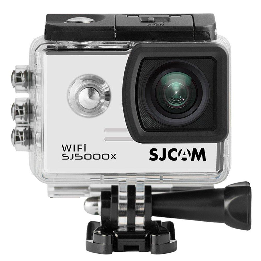 SJCAM SJ5000X スポーツカメラ 2.0インチ液晶 フルHD 防水 アクションカメラ Wi-Fi ドライブレコーダー 日本語説明書付 ホワイト B077LZHSL4 ホワイト ホワイト