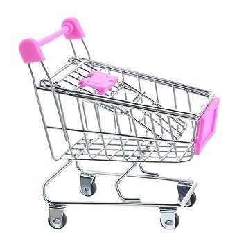 Carrito de la compra Craft Decoración Trompeta carrito de supermercado carrito de modelo de metal juguete: Amazon.es: Hogar