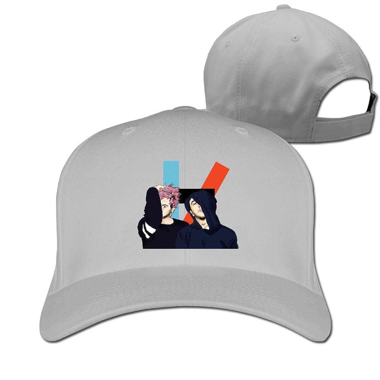 ALIZISHOP Music Twenty One Pilots Logo Peaked Baseball Caps Hats For Unisex