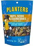 Planters Trail Mix 坚果和蔓越莓,6 盎司(约170.1克)/袋(12袋装)