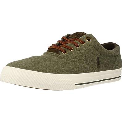Zapatos para hombre, color Verde , marca RALPH LAUREN, modelo Zapatos Para Hombre RALPH LAUREN VAUGHN NE Verde: Amazon.es: Zapatos y complementos