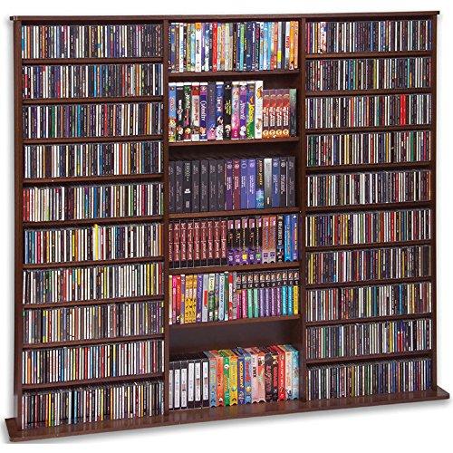Leslie Dame CDV-1500CHY High Capacity Multimedia Cabinet, Cherry