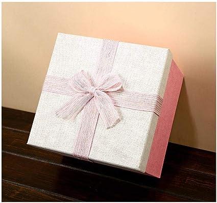 Caja de regalo de gran tamaño, caja de regalo cuadrada, caja de ...
