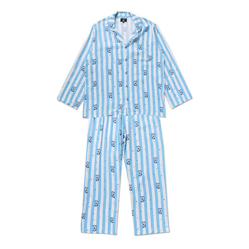 bluee (Mang) BT21 Official Pajamas, Pajamas Set Authentic