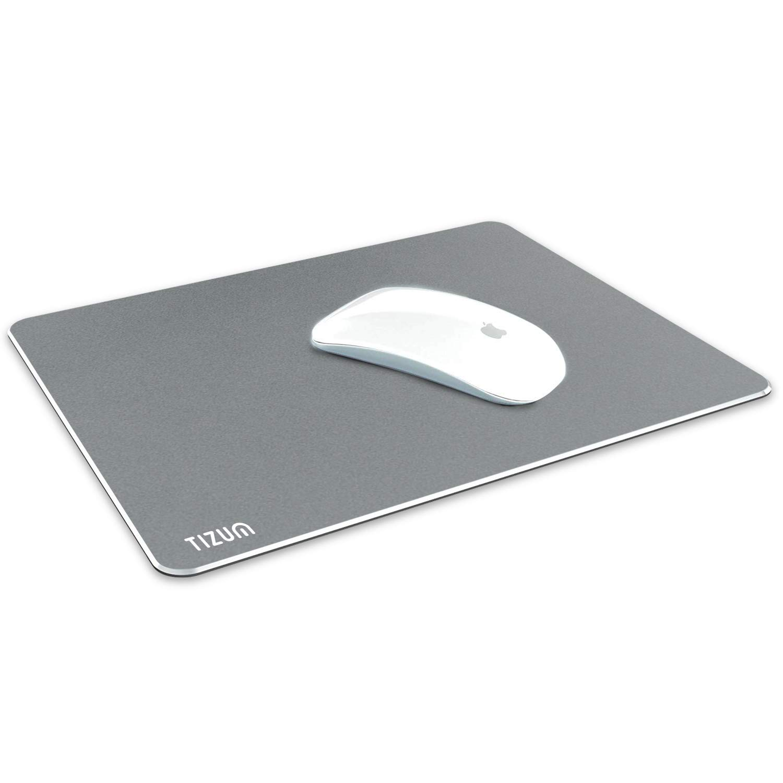 Tizum Aluminium Mousepad - Anti-Skid Intensive Gaming Mouse Pad for  MacBook, Laptop & Desktop (L) - Grey - Buy Tizum Aluminium Mousepad -  Anti-Skid Intensive Gaming Mouse Pad for MacBook, Laptop &