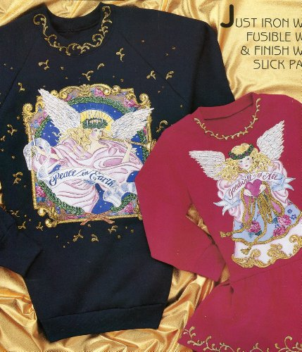 Daisy Kingdom Heavenly Angels No-Sew Fabric Applique, used for sale  Delivered anywhere in USA