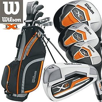 Equipo de golf Wilson para hombres de 31 piezas con palos 2 ...