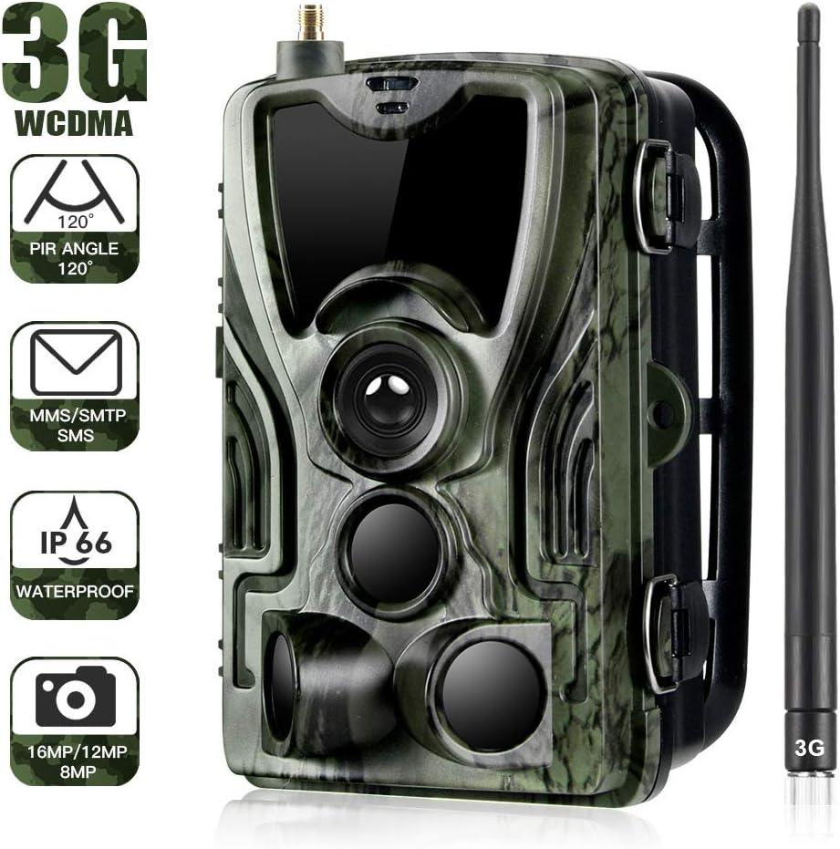 RONSHIN Cam/éra dext/érieur 3G HC-801G 16 MP SMS//MMS//SMTP Pi/ège Photo LED Cam/éras Sauvages