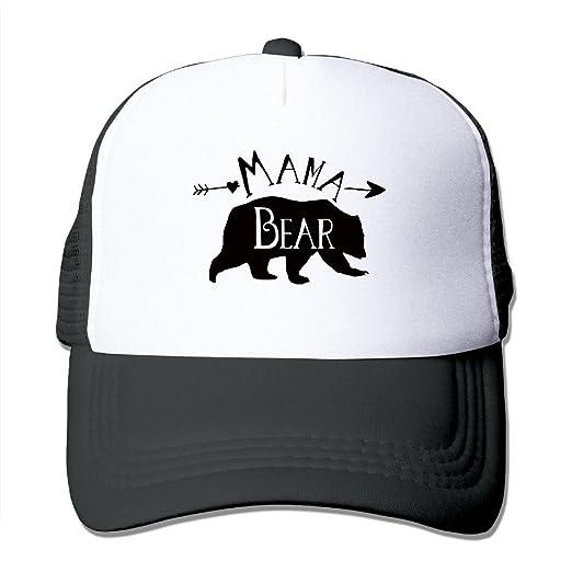 b47361f64de23 Amazon.com  Mama Bear Trucker Hat Snapback Cap (6310117084409)  Books