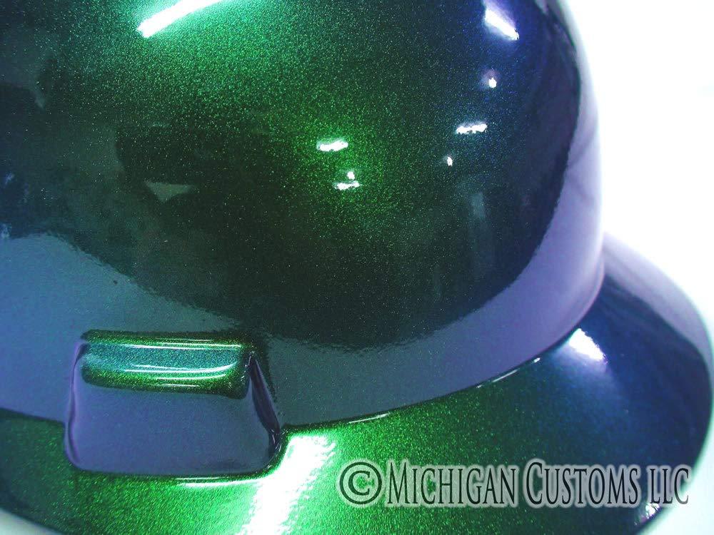 : Regular Brim Blue Green Kameleon MSA V Gard Hard