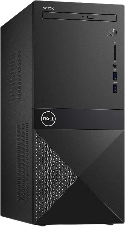Dell Vostro 3671 Business Desktop Computer_ Intel Quad-Core i3-9100 up to 4.2GHz (Beats i5-7400)_ 32GB DDR4 RAM_ 1TB PCIe SSD + 1TB HDD_ DVDRW_ WiFi_ Black_ Windows 10 Pro