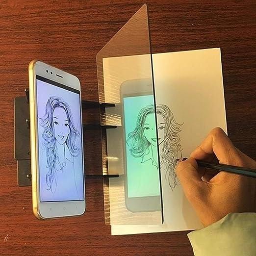 Yissma Sketch Tablero de Dibujo Tablero de Dibujo Proyector Cuadro ...