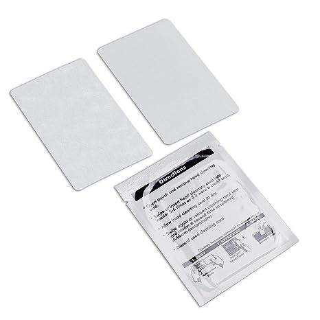 Amazon.com: Tarjetas de limpieza CR80, limpiador de lector ...