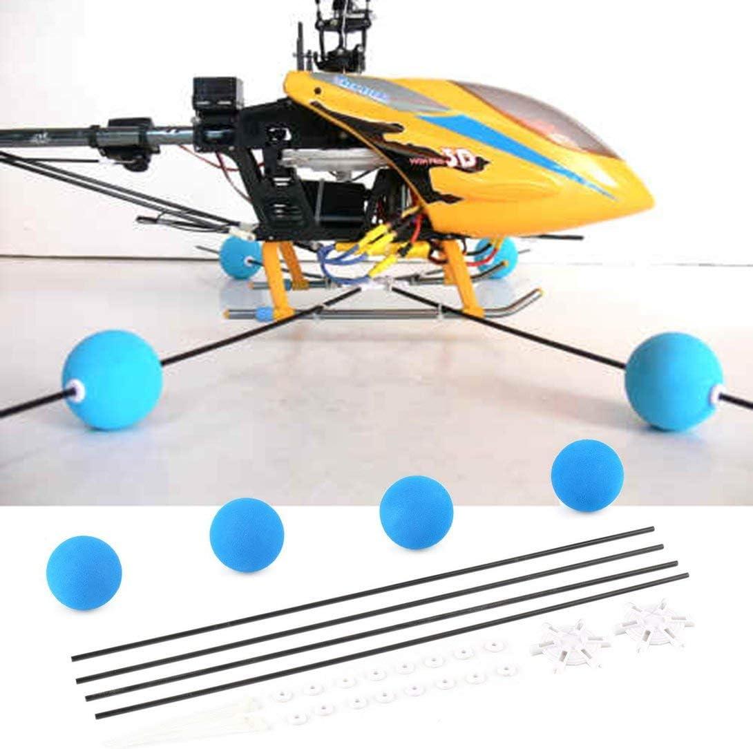 Swiftswan Training Gear Sponge Ball Kit Compatible for RC Walkera Trex Align 400 450 Helicopter