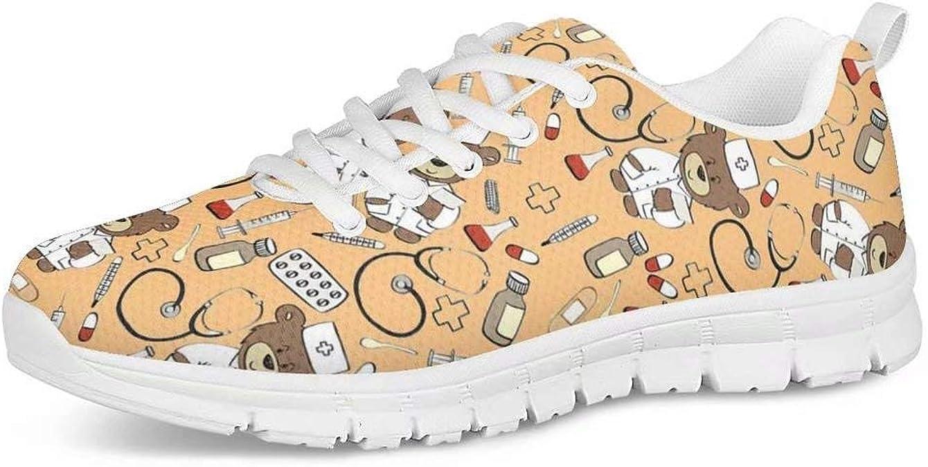 POLERO Zapatos Deportivos para Mujer, Zapatillas Planas con diseño ...