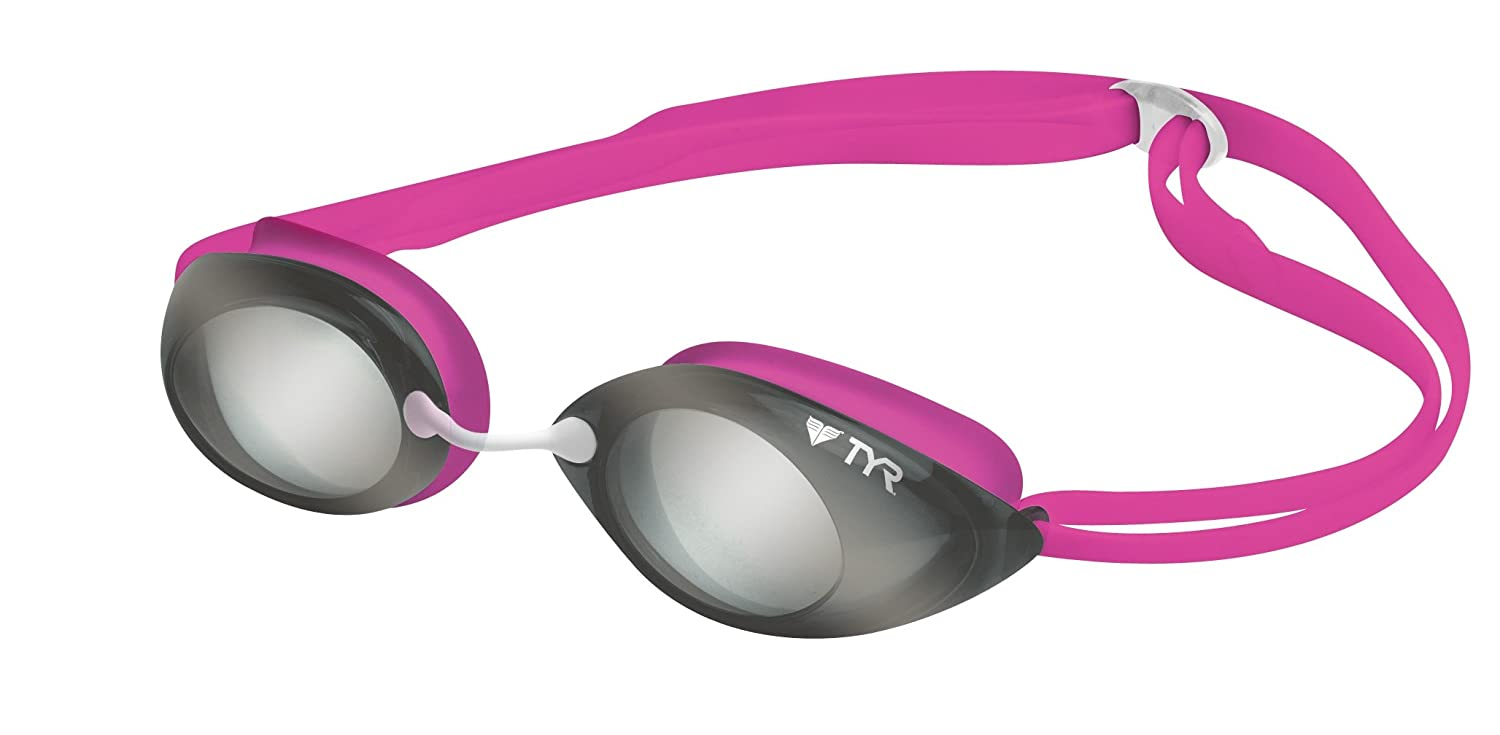 Amazon.com : TYR Tracer Junior Racing Metallized Goggle : Swimming Goggles  : Sports & Outdoors
