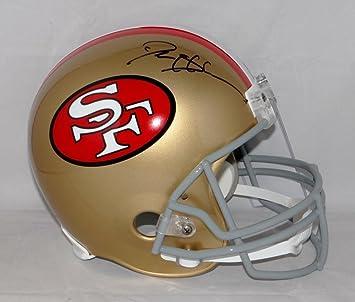 0bc8fe96a Amazon.com  Deion Sanders Autographed Helmet -  Black 64 95 F S W Auth - JSA  Certified - Autographed NFL Helmets  Sports Collectibles