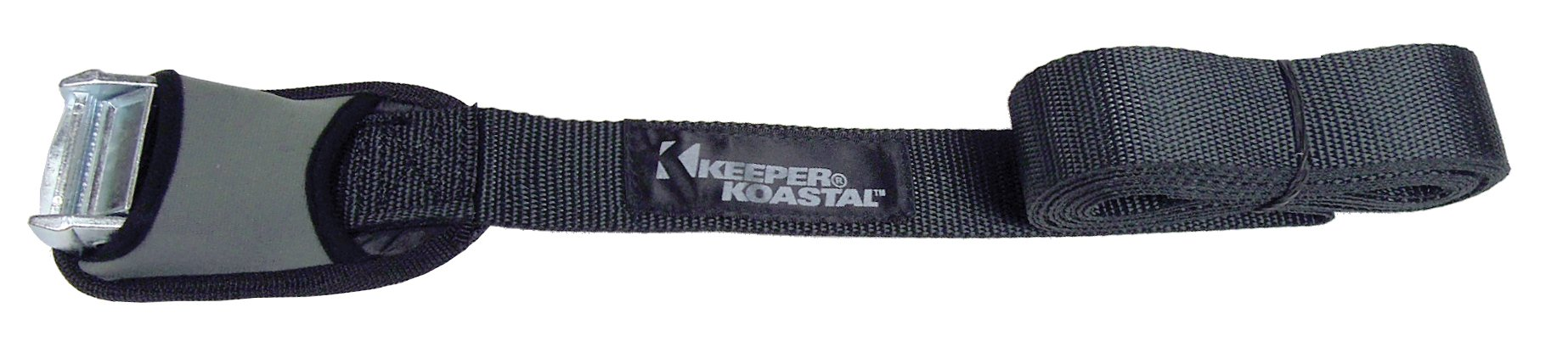 Keeper (07512 Koastal 12' x 1-1/2'' Lashing Strap with Protective Cover, (Pack of 2)