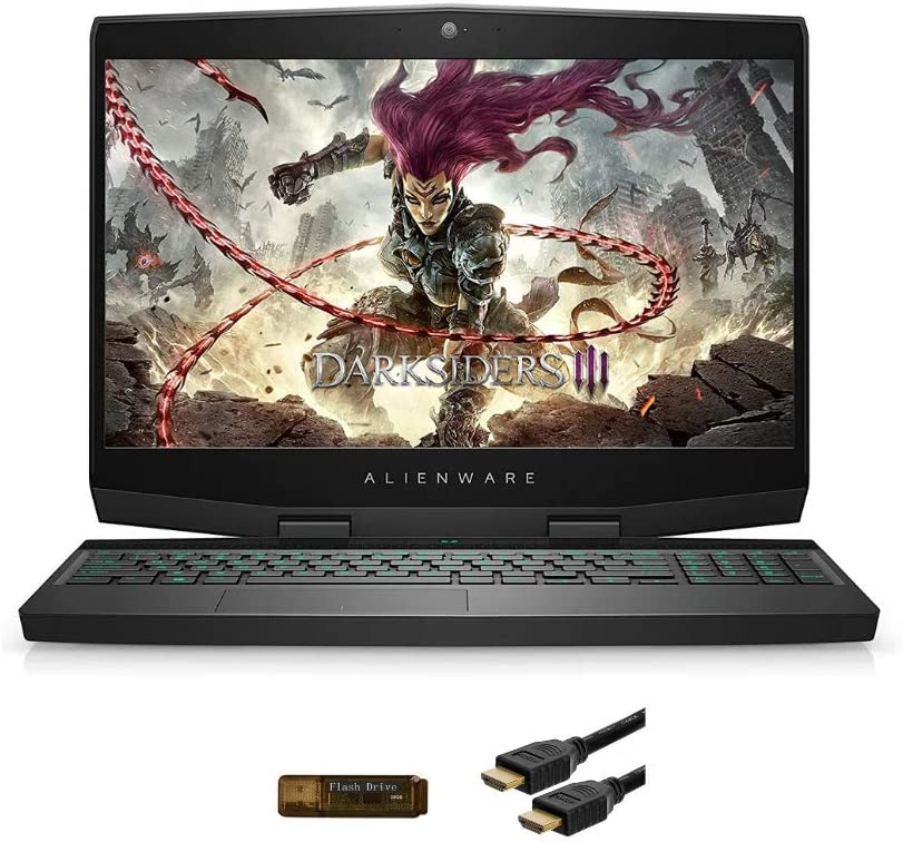 "New_Dell_Alineware_m15 R1 15.6"" FHD IPS Display Gaming Laptop, i7-9500H(up to 4.5Ghz w/Turbo Boost), RTX 2070 8GB Max-Q Design, 32GB RAM, 512GB SSD, HDMI, Win 10 Home w/ Santex Accessory (1TB SSD)"