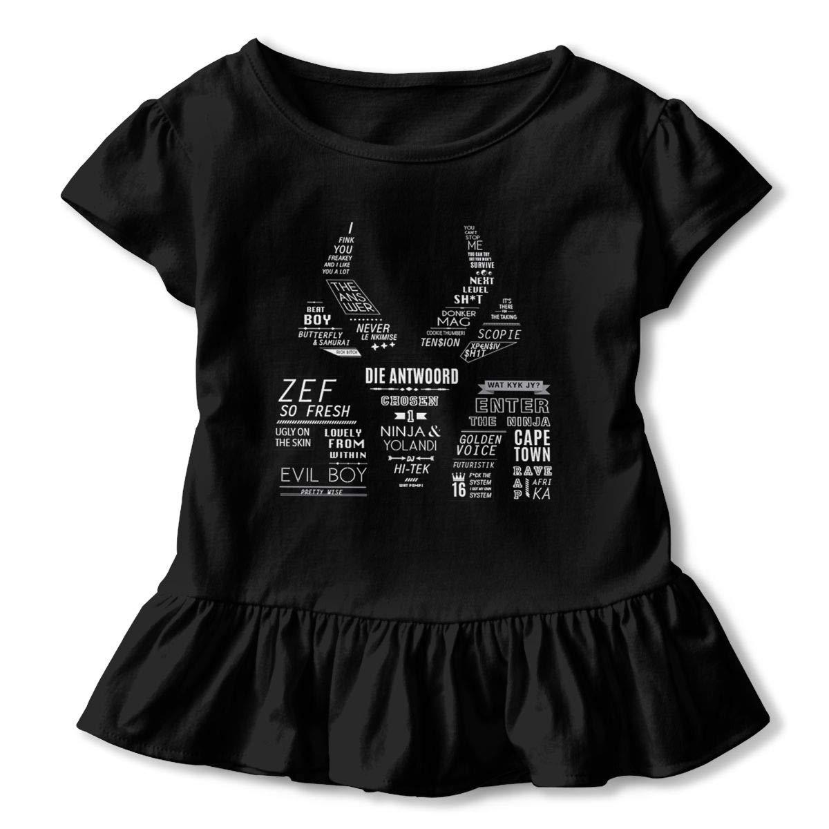 Amazon.com: Virginia W. Cole Girls Die Antwoord Toddler ...