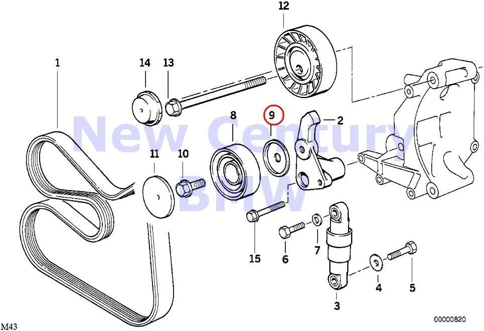318i belt diagram amazon com bmw genuine belt drive water pump alternator mudguard  amazon com bmw genuine belt drive