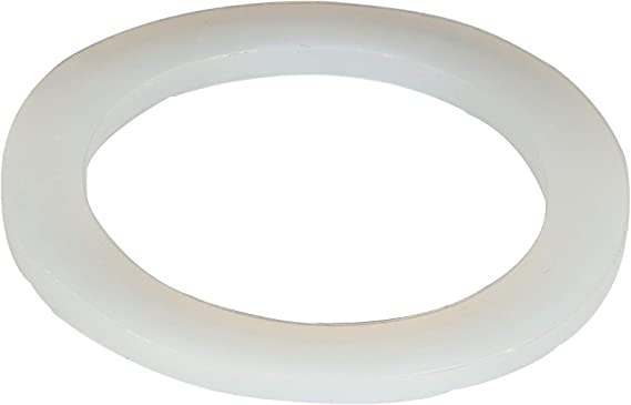 Nikou Silicon Gaskets 10Pcs Silicone Washer O-Rings Water Heater Seal Silicon Flat Gaskets Washer Avirulent Insipidity 1 1//4