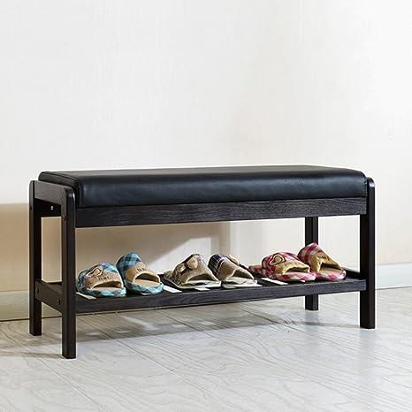 Amazon.com: Cambio de zapatos, taburete salón taburete cojín ...