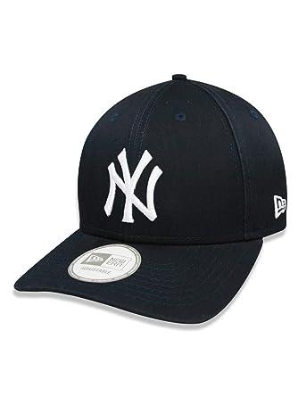 BONE 940 NEW YORK YANKEES MLB ABA CURVA MARINHO NEW ERA  Amazon.com ... b68b9fd82fe