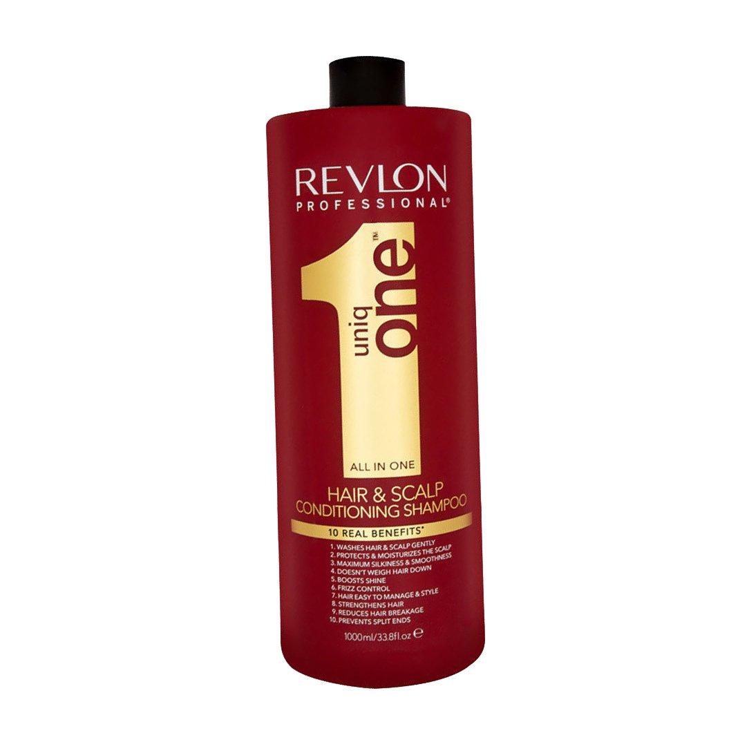 Revlon Professional, Champú y acondicionador UniqOne - 1000 ml. product image