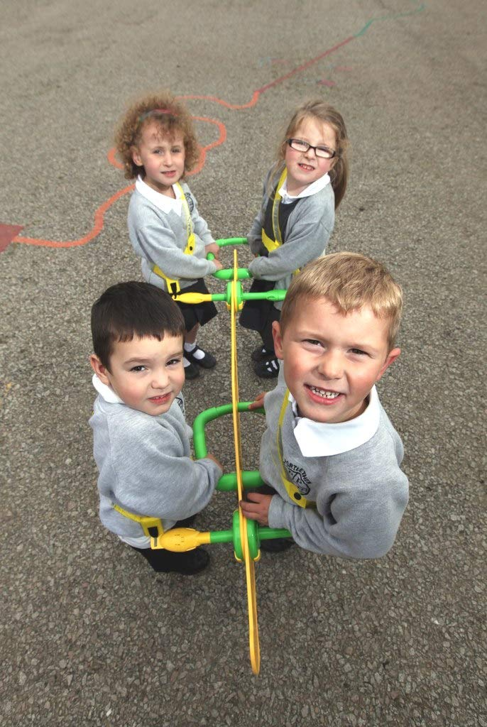 Walkodile Quattro (4 Child) - Kids Walking Rope, Childrens Reins, Toddler Safety Harness. Includes Free Learning Games for Walks Guide by Walkodile (Image #6)