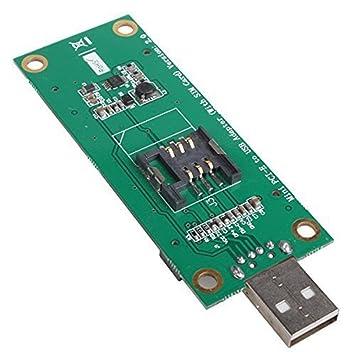 Mini PCI-E inalámbrica WWAN a tarjeta de adaptador USB con ...