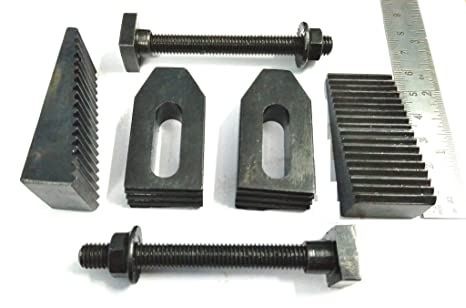 """3//8/"""" CLAMP CLAMPING BOLT T NUT HOLD DOWN KIT SET FOR METAL MILLING MACHINE TOOL"""