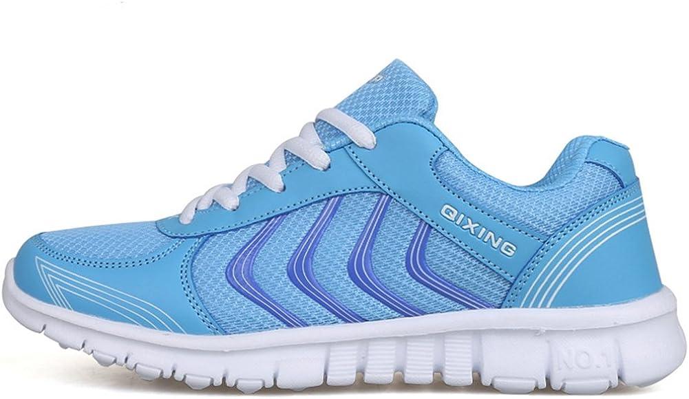 Zapatillas de Deporte con Cordones de Malla para Mujer Zapatillas ...