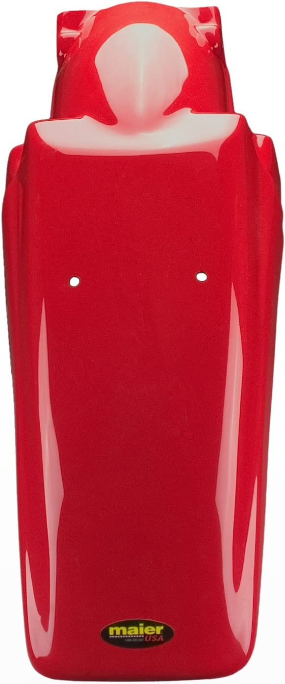 12304-12 Maier USA MX Style Rear Fender for Honda XR250R Fighting Red XR400R