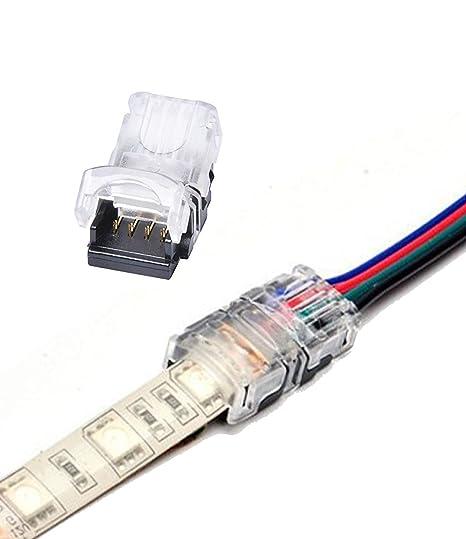 Empalmador rápido de cables Alightings sin necesidad de pelarlos. Compatible con cables de entre 22
