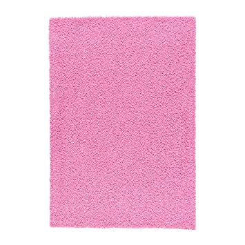 Ikea Hampen Tappeto A Pelo Alto Rosa 133 X 195 Cm Amazon It