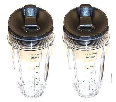 sduck repuesto para Nutri Ninja licuadora, Regular dos martillo. Vasos y tapas Sip &